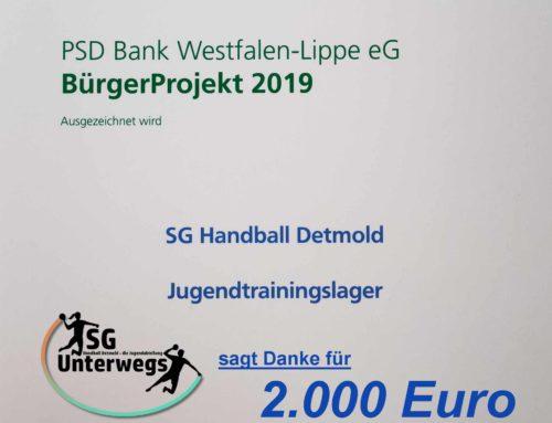 PSD Bank Westfalen-Lippe fördert Vereine und ihr Engagement.
