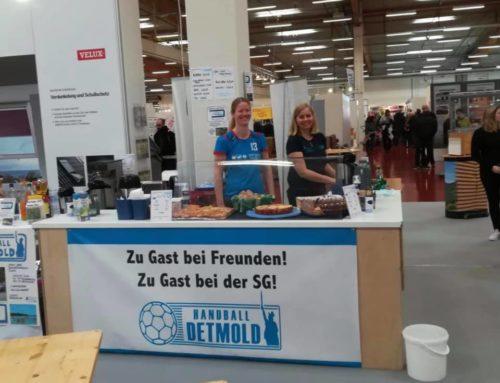 SG Handball Detmold auf der Messe in Bad Salzuflen dabei !!